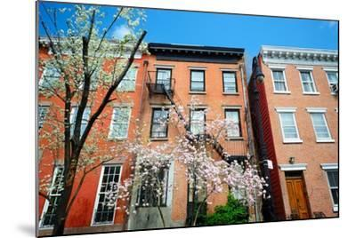 West Village New York City Apartments in the Springtime-SeanPavonePhoto-Mounted Photographic Print