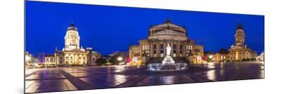Historic Gendarmenmarkt Square in Berlin, Germany.-SeanPavonePhoto-Mounted Photographic Print