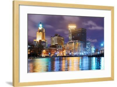 Providence, Rhode Island Was One of the First Cities Established in the United States.-SeanPavonePhoto-Framed Photographic Print