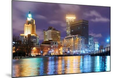 Providence, Rhode Island Was One of the First Cities Established in the United States.-SeanPavonePhoto-Mounted Photographic Print