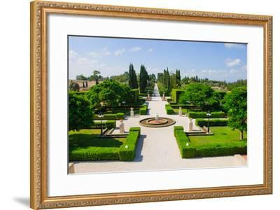 Bahai Gardens, Acre-RnDmS-Framed Photographic Print