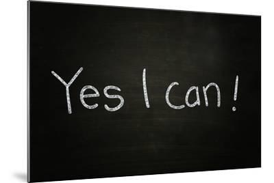 Yes I Can-airdone-Mounted Photographic Print