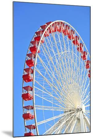 Ferris Wheel at Navy Pier, Chicago-soupstock-Mounted Photographic Print
