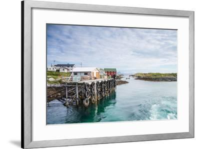 Aproaching A Small Harbor in Northern Norway-Lamarinx-Framed Photographic Print