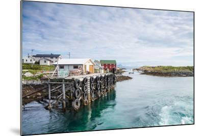 Aproaching A Small Harbor in Northern Norway-Lamarinx-Mounted Photographic Print
