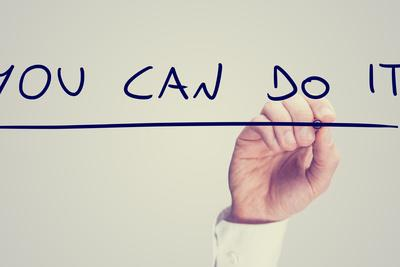 You Can Do It-Gajus-Framed Photographic Print