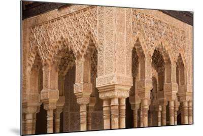 Patio of the Lions Columns from the Alhambra Palace-Lotsostock-Mounted Photographic Print
