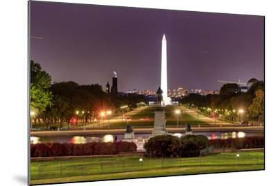 The Mall Monument Us Grant Memorial Evening Stars Washington Dc-BILLPERRY-Mounted Photographic Print
