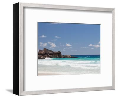 Beach with Large Stones-dizainera-Framed Photographic Print