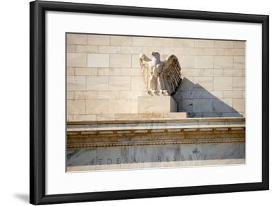 Federal Reserve Building-Tarch-Framed Photographic Print