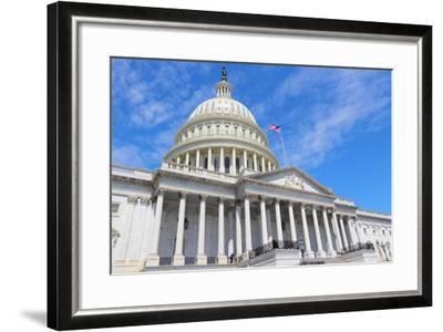 Us National Capitol-Tupungato-Framed Photographic Print