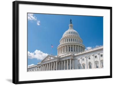 Us Capitol-robhillphoto com-Framed Photographic Print