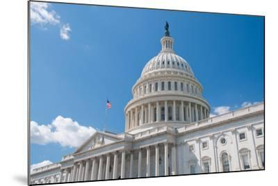 Us Capitol-robhillphoto com-Mounted Photographic Print