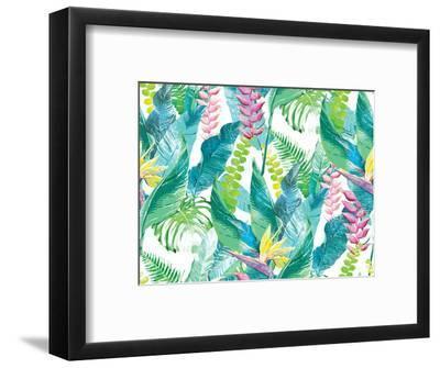 Exotic Flowers-Dasha Kozlovskikh-Framed Photographic Print