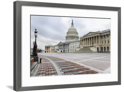 Washington Dc, US Capitol Building East Facade-Orhan-Framed Photographic Print