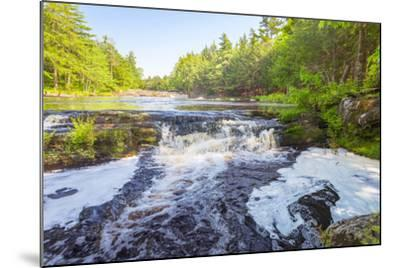 Forest Waterfall-Vadim Petrov-Mounted Photographic Print
