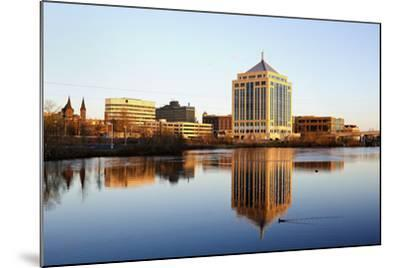Wausau Seen during the Sunset-benkrut-Mounted Photographic Print