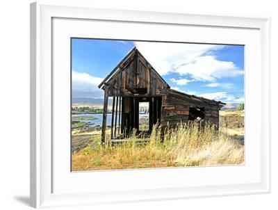 Native Indian Abandoned Building-sphraner-Framed Photographic Print