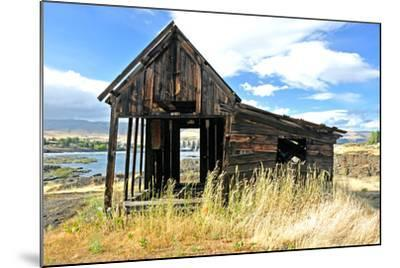 Native Indian Abandoned Building-sphraner-Mounted Photographic Print