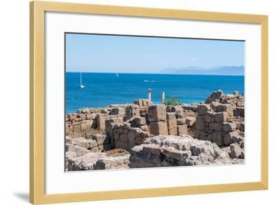 Archaeological Site-caruso christian-Framed Photographic Print