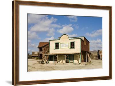 Wild West Town-aluxum-Framed Photographic Print