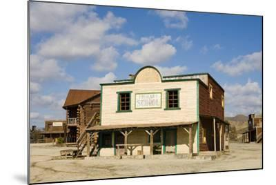 Wild West Town-aluxum-Mounted Photographic Print
