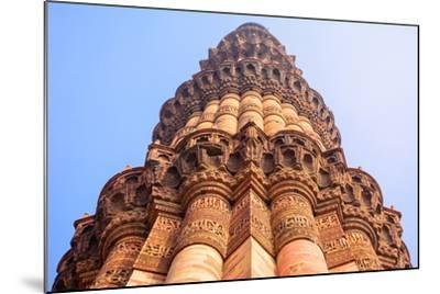 Qutb Minar, the Tallest Brick Minaret in the World , Delhi India.-jackfrog-Mounted Photographic Print