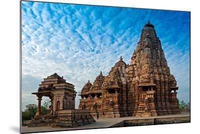 Kandariya Mahadeva Temple, Khajuraho, India, Unesco Heritage Site.-Rudra Narayan Mitra-Mounted Photographic Print