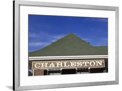 Charleston Sign-benkrut-Framed Photographic Print