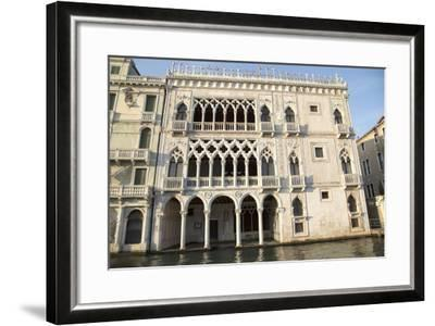 Facade of Ca D'oro Palace-Teodora_D-Framed Photographic Print