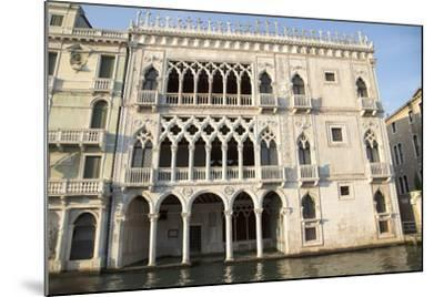 Facade of Ca D'oro Palace-Teodora_D-Mounted Photographic Print