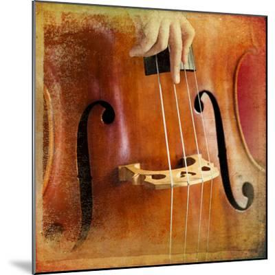 Double Bass-lachris77-Mounted Photographic Print
