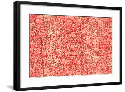 Islamic African Tribal Art-BA photography-Framed Photographic Print