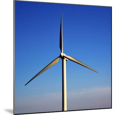 In Isle of Lanzarote  Spain Africa Wind Turbines Sky-lkpro-Mounted Photographic Print