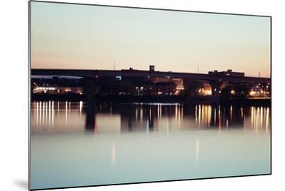 Bridge in Peoria-benkrut-Mounted Photographic Print