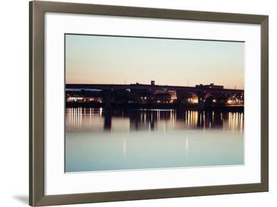 Bridge in Peoria-benkrut-Framed Photographic Print