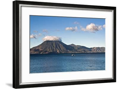 Boat on Lake Attilan-benkrut-Framed Photographic Print