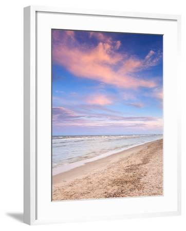 Beautiful Summer Sunset at the Sea-denbelitsky-Framed Photographic Print