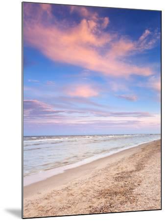 Beautiful Summer Sunset at the Sea-denbelitsky-Mounted Photographic Print