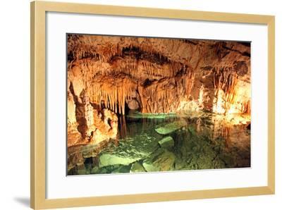 Demanovska Cave of Liberty, Slovakia-jarino47-Framed Photographic Print