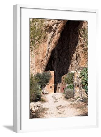 Mangiapane Cave, Sicily : A Village in A Cavern-Spumador-Framed Photographic Print