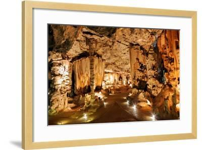 Limestone Cavern Formations-Four Oaks-Framed Photographic Print