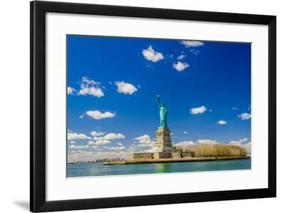 The Statue of Liberty-Vividus-Framed Photographic Print