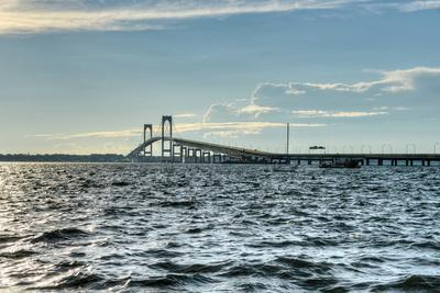 Newport Bridge - Rhode Island-demerzel21-Photographic Print