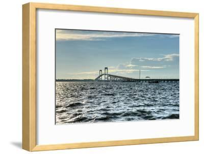 Newport Bridge - Rhode Island-demerzel21-Framed Photographic Print