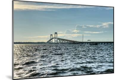 Newport Bridge - Rhode Island-demerzel21-Mounted Photographic Print