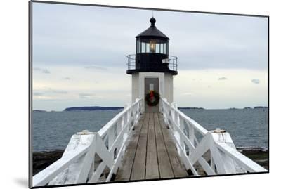 Marshall Point Lighthouse-lightningboldt-Mounted Photographic Print