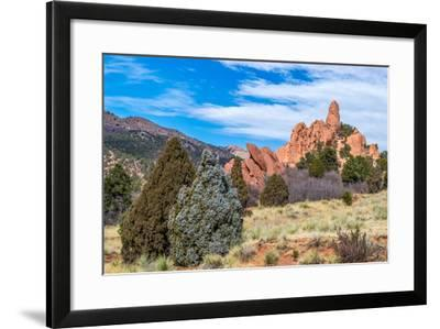 Garden of the Gods-brm1949-Framed Photographic Print