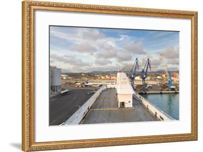 Port of Civitavecchia-lachris77-Framed Photographic Print