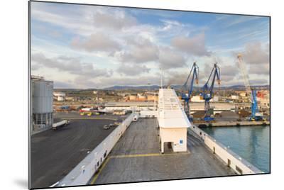Port of Civitavecchia-lachris77-Mounted Photographic Print